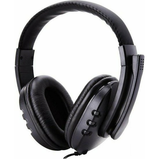 GM 002 Gaming Headphones Μαύρο