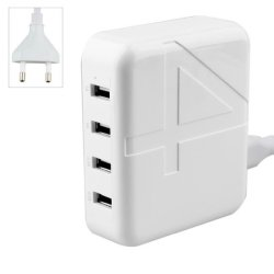 Desktop Charger 4 USB 30w Λευκό