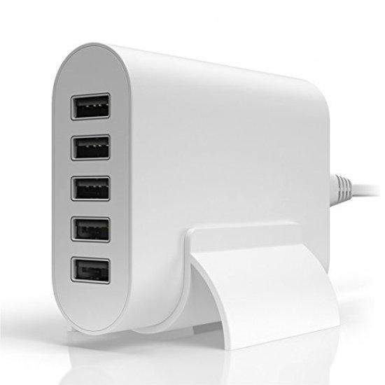 Desktop Charger 5 USB 30w Λευκό