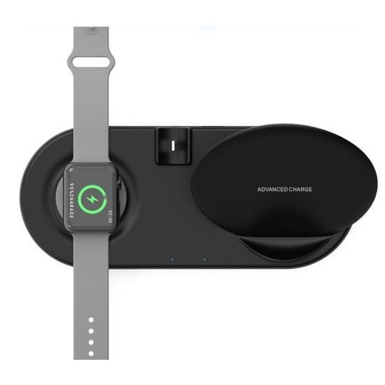 5-in-1 Qi Fast Wireless Charger Base