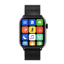 Z23 Smart Watch 1.7 inch Full Screen Μαύρο