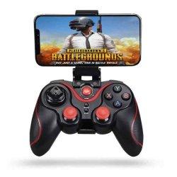 Wireless Joystick Gamepad Μαύρο
