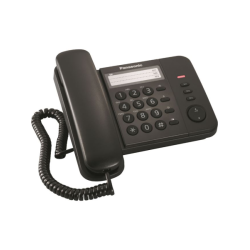 Panasonic Corded Phone KX-TS520 Μαύρο