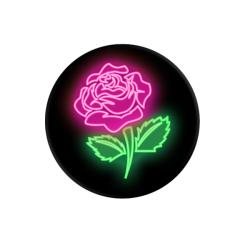 Puro PopSocket Neon Rose Ροζ