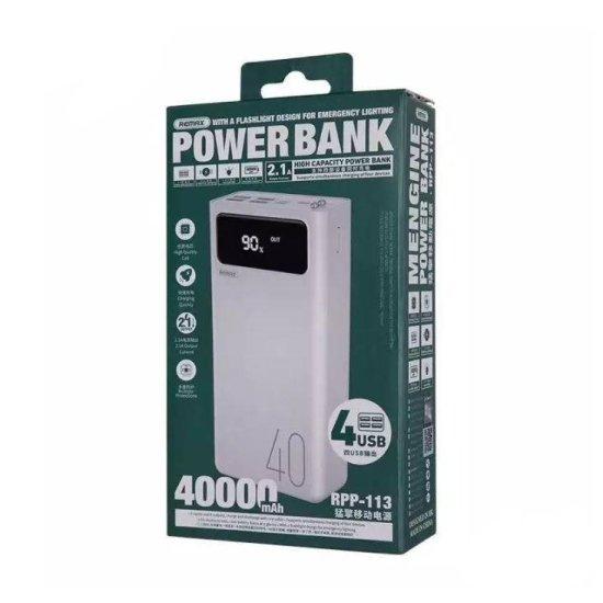 Remax 40.000 mAh Power Bank Λευκό