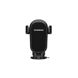 Riversong Car Holder Power Clip Μαύρο