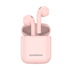 Riversong True Wireless Earphones Air X18 Απαλό Ροζ