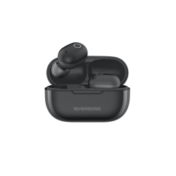 Riversong True Wireless Earbuds Air X19 Μαύρα