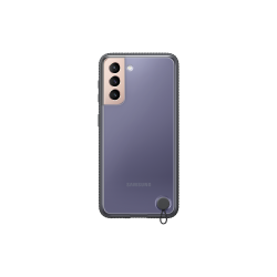 Samsung Clear Protective Cover Galaxy S21 Μαύρη
