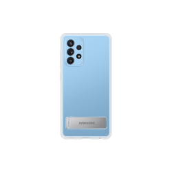 Samsung Clear Standing Cover Galaxy A52 Διάφανη