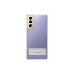 Samsung Clear Standing Cover Galaxy S21 Διάφανη