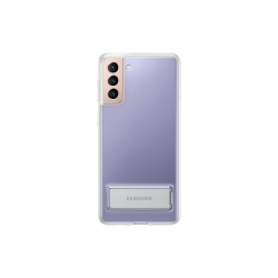 Samsung Clear Standing Cover Galaxy S21 Plus Διάφανη