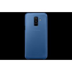 Samsung Flip Wallet Cover Galaxy A6 Plus Μπλε
