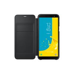 Samsung Flip Wallet Galaxy J6 Μαύρη