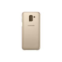Samsung Flip Wallet Galaxy J6 Χρυσή