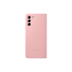Samsung Clear View Cover Galaxy S21 Plus Ροζ