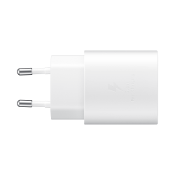 Samsung Fast Travel Charger 25W Type-C To Type C Λευκό