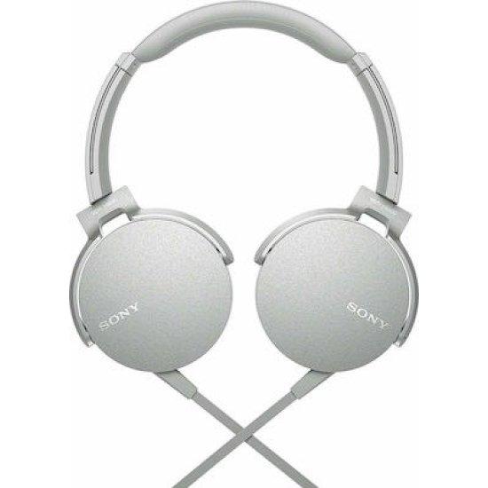 Sony Headphones MDR-XB550AP Λευκά