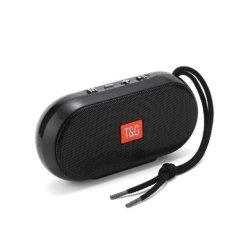 T&G 179 Bluetooth Speaker Μαύρο