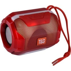 T&G TG162 Bluetooth Speaker Κόκκινο