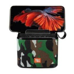 T&G TG-801 Bluetooth Speaker Phone Holder Camouflage