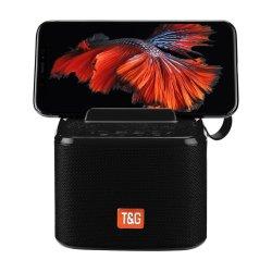 T&G TG-801 Bluetooth Speaker Phone Holder Μαύρο