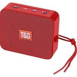 T&G Bluetooth Speaker Κόκκινο