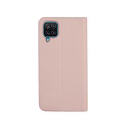 Vivid Case Book Samsung Galaxy A12 Ροζ Χρυσό