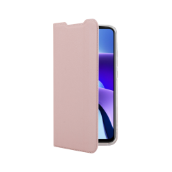 Vivid Case Book Xiaomi Redmi Note 9T Ροζ Χρυσό