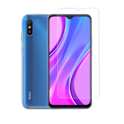 Vivid Set Gelly Transparent + Tempered Glass Xiaomi Redmi 9A