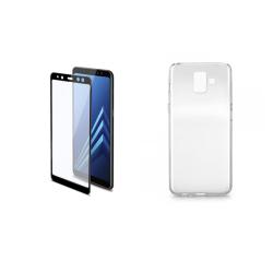 Vivid Set Θήκη Διάφανη+Προστασία Samsung A6