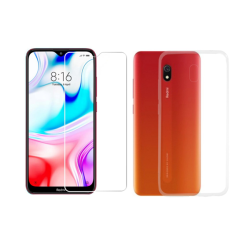Vivid Set TPU + Tempered Glass Xiaomi Redmi 8A