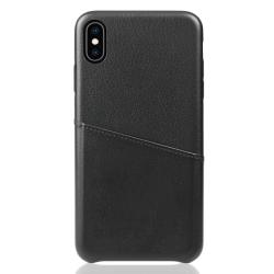 Vivid Δερμάτινη Θήκη iPhone Χ / XS Μαύρο