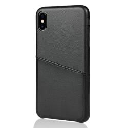 Vivid Δερμάτινη Θήκη iPhone XS Max Μαύρο
