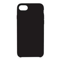 Vivid Case Liquid Silicone iPhone 7/8 Μαύρη