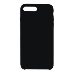 Vivid Case Liquid Silicone iPhone 7/8 Plus Μαύρη