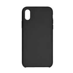 Vivid Θήκη Liquid Σιλικόνη iPhone XS Max Μαύρη