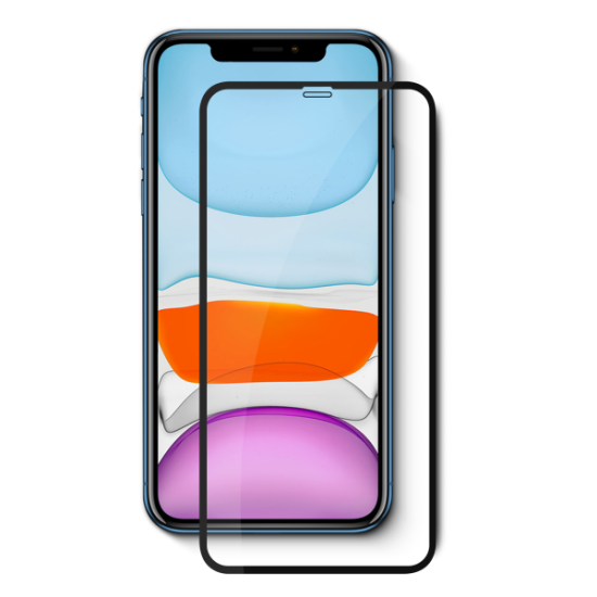 Vivid Full Face Tempered Glass iPhone X/XS/11 Pro Μαύρο