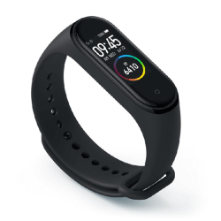 Xiaomi Fitness Tracker Mi Smart Band 4 Μαύρο