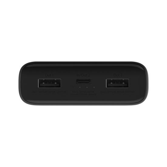 Xiaomi Power Bank 20000mAh 3 x USB/Type-C 45W Pro Μαύρο