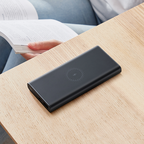 Xiaomi Wireless PowerBank 10000mAh Essential Μαύρο