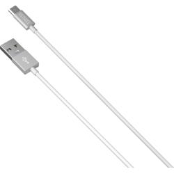 Yenkee Καλώδιο Φόρτισης και Μεταφοράς Δεδομένων MicroUSB 2m