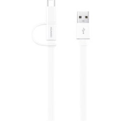 Huawei Type C Cable To Usb 1.5m & 2A Λευκό