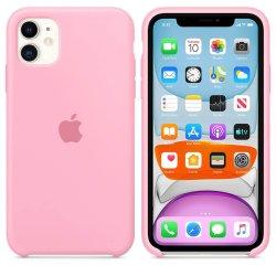 iPhone 11 Ροζ Θήκη Σιλικόνης