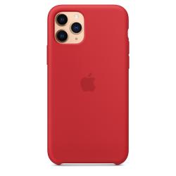 iPhone 11 Pro Κόκκινη Θήκη Σιλικόνης