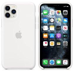iPhone 11 Pro Max Λευκή Θήκη Σιλικόνης