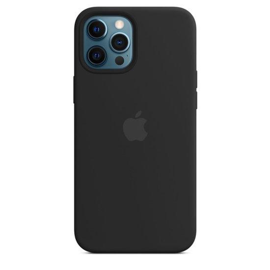 iPhone 12/12 Pro Μαύρη Θήκη Σιλικόνης