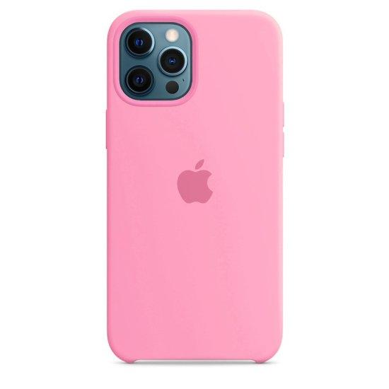 iPhone 12/12 Pro Ροζ Θήκη Σιλικόνης