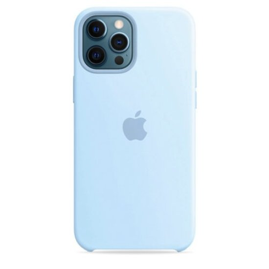 iPhone 12 Pro Max Γαλάζια Θήκη Σιλικόνης