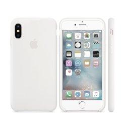 iPhone XS Max Λευκή Θήκη Σιλικόνης
